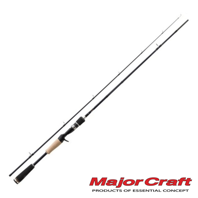 Basspara Кастинговое удилище Major Craft Basspara 1.99m/7-21gr/10-16lb BPC-662M