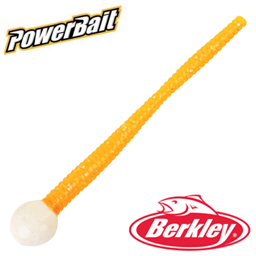 Мягкие приманки Berkley PowerBait Mice Tail 3'' #Glow/Orange Silver