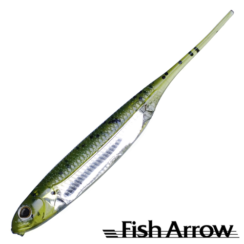 Fish Arrow Flash J 4'' #02 Wm/Silver (5 шт в уп)