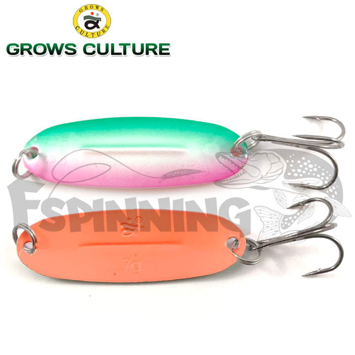 Блесна колебалка Grows Culture Jig Killer UV 7gr/57mm #041A