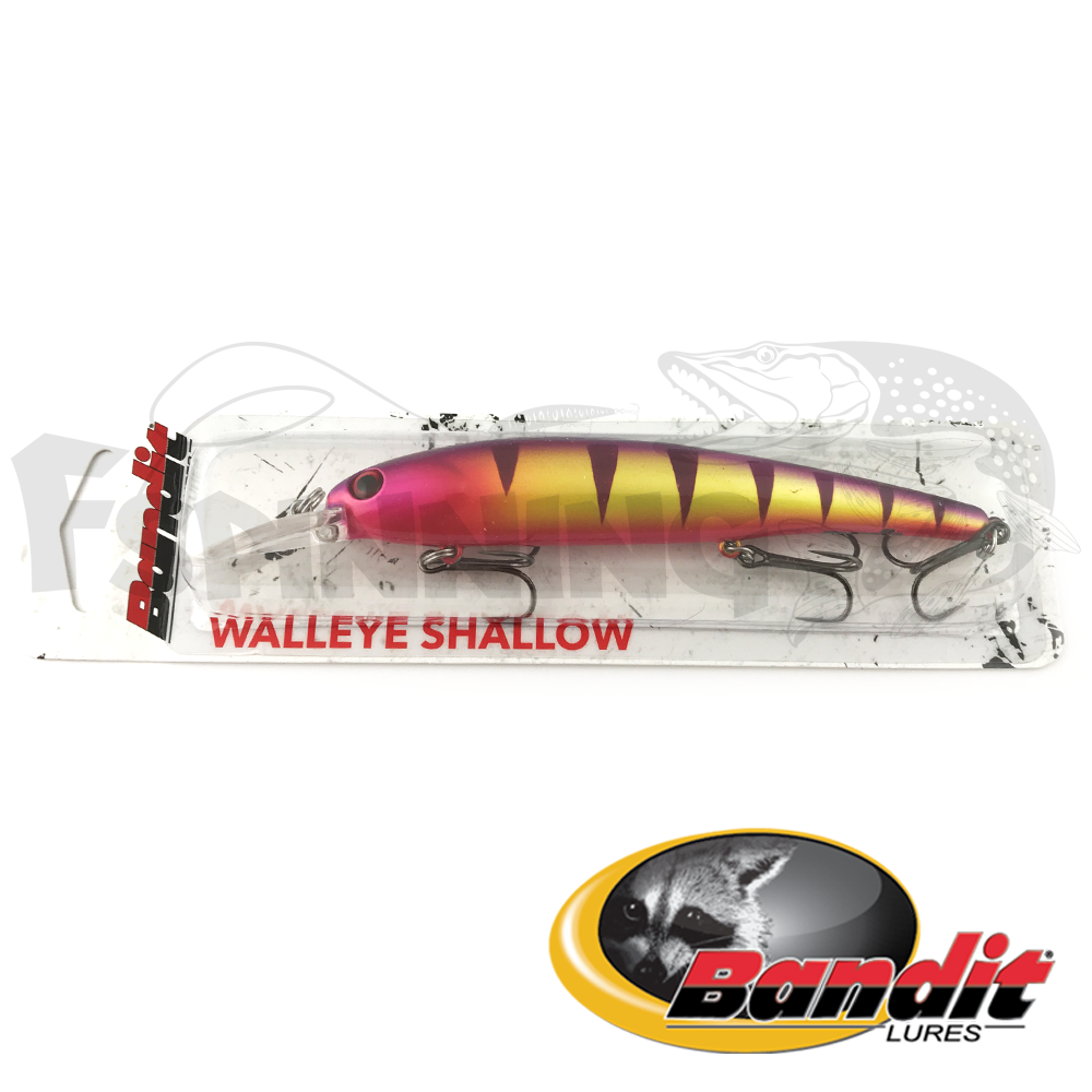 Walleye Shallow Воблер Bandit Walleye Shallow 17.5gr #B13