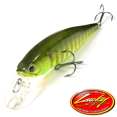 Воблер Lucky Craft Pointer 100 18,0gr #184 Sexy Chartreuse Perch
