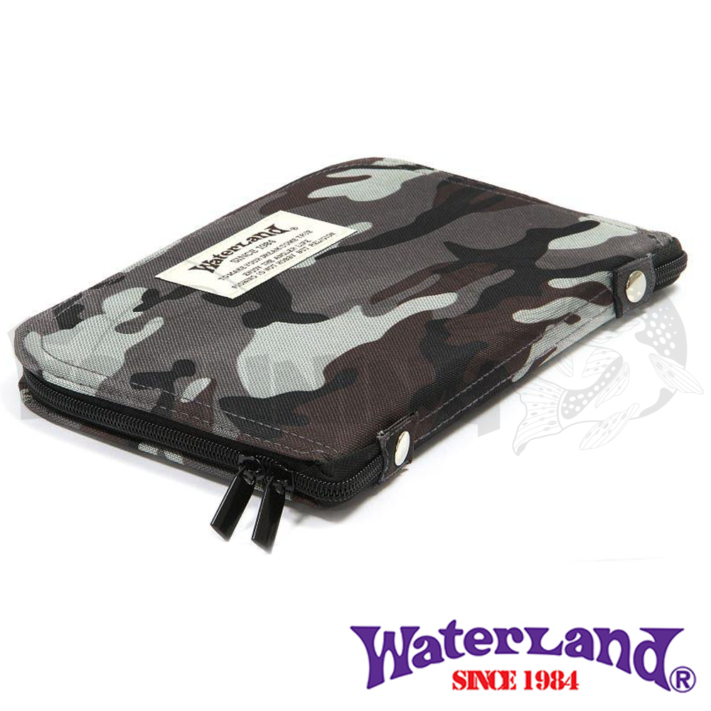 Waterland Кошелек для блесен Waterland Spoon Wallet #Mega gray camo