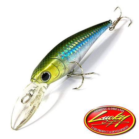 Воблер Lucky Craft Bevy Shad 75SP 10,0gr #0739 MS Japan Shad 906