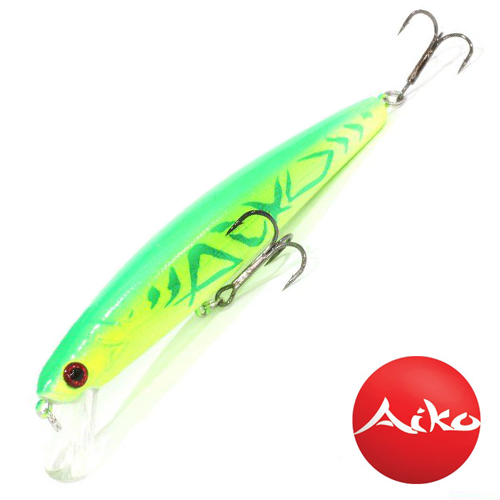Воблер Aiko Chef 130SF 23,3gr #Aiko Green