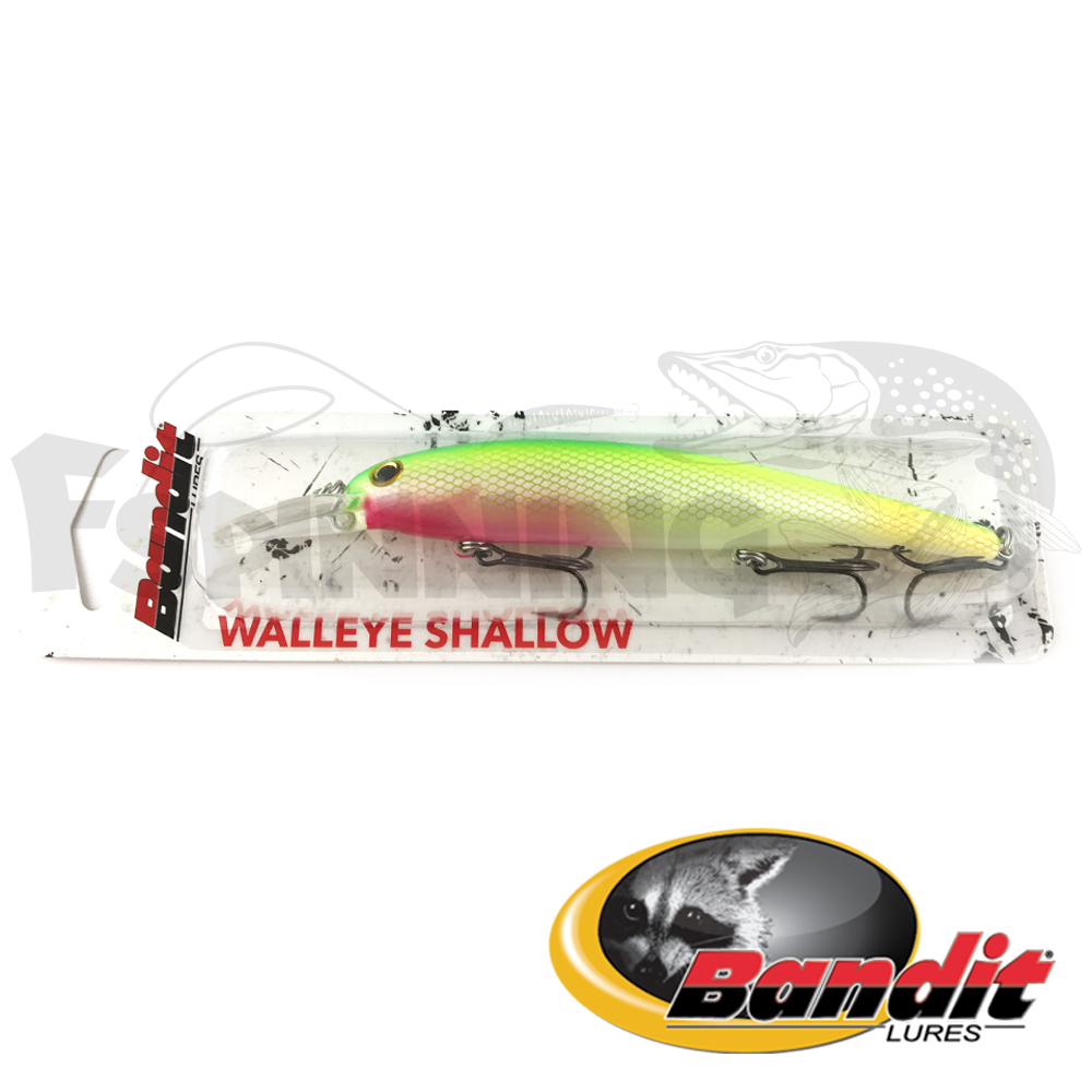 Walleye Shallow Воблер Bandit Walleye Shallow 17.5gr #B23