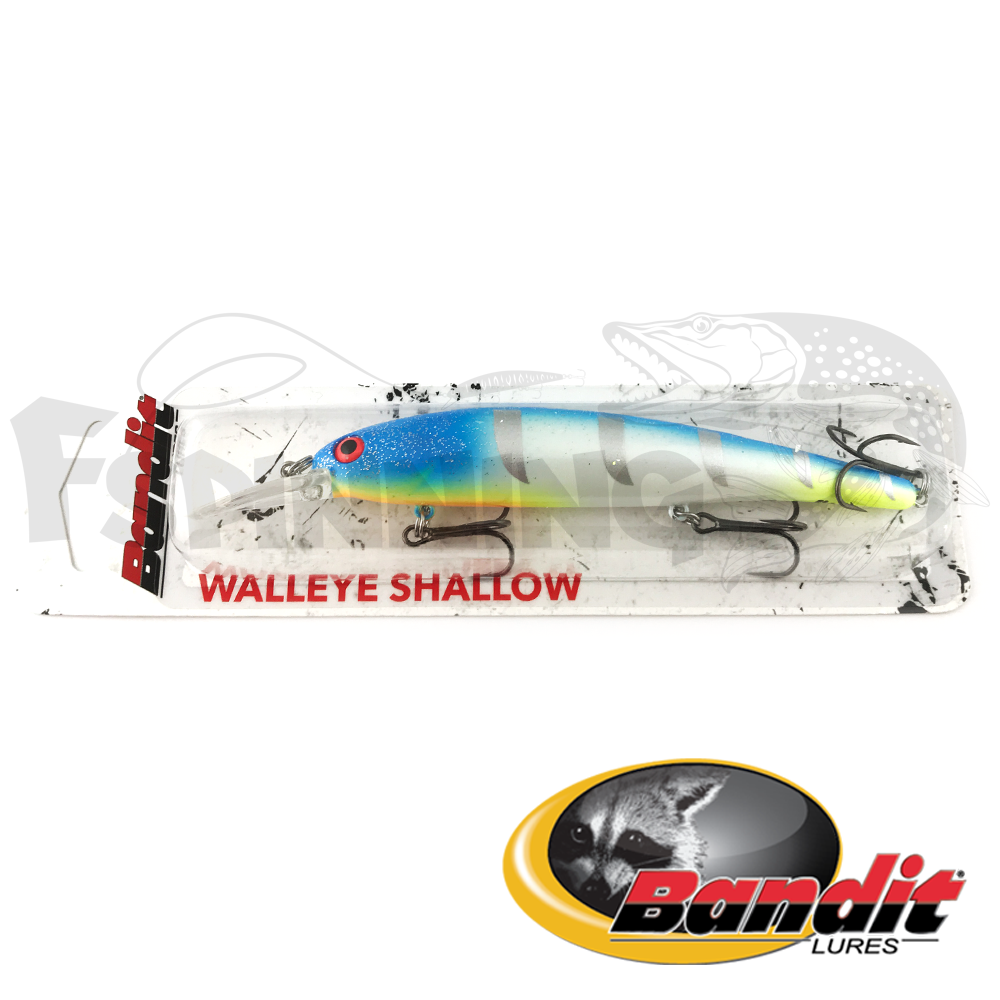 Walleye Shallow Воблер Bandit Walleye Shallow 17.5gr #B27