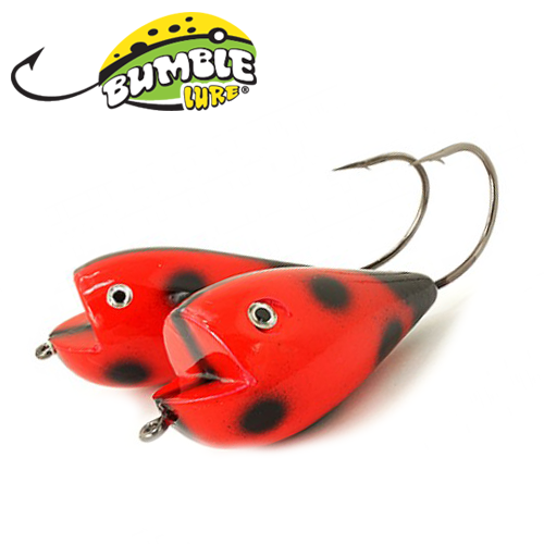 Глиссер Bumble Lure Killer Frog KF-15LB Lady Bug 15гр