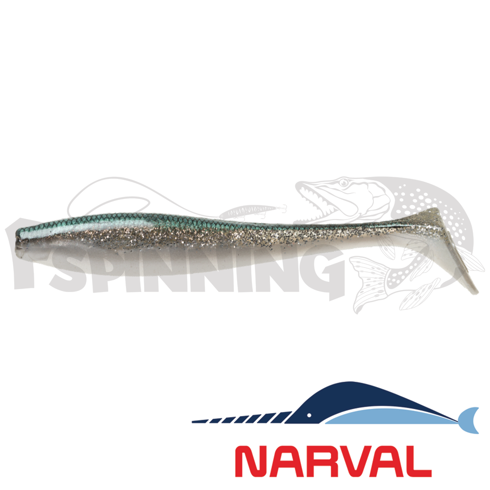 Choppy Tail 100mm Мягкие приманки Narval Choppy Tail 10sm #012 John Snow (5 шт в уп)