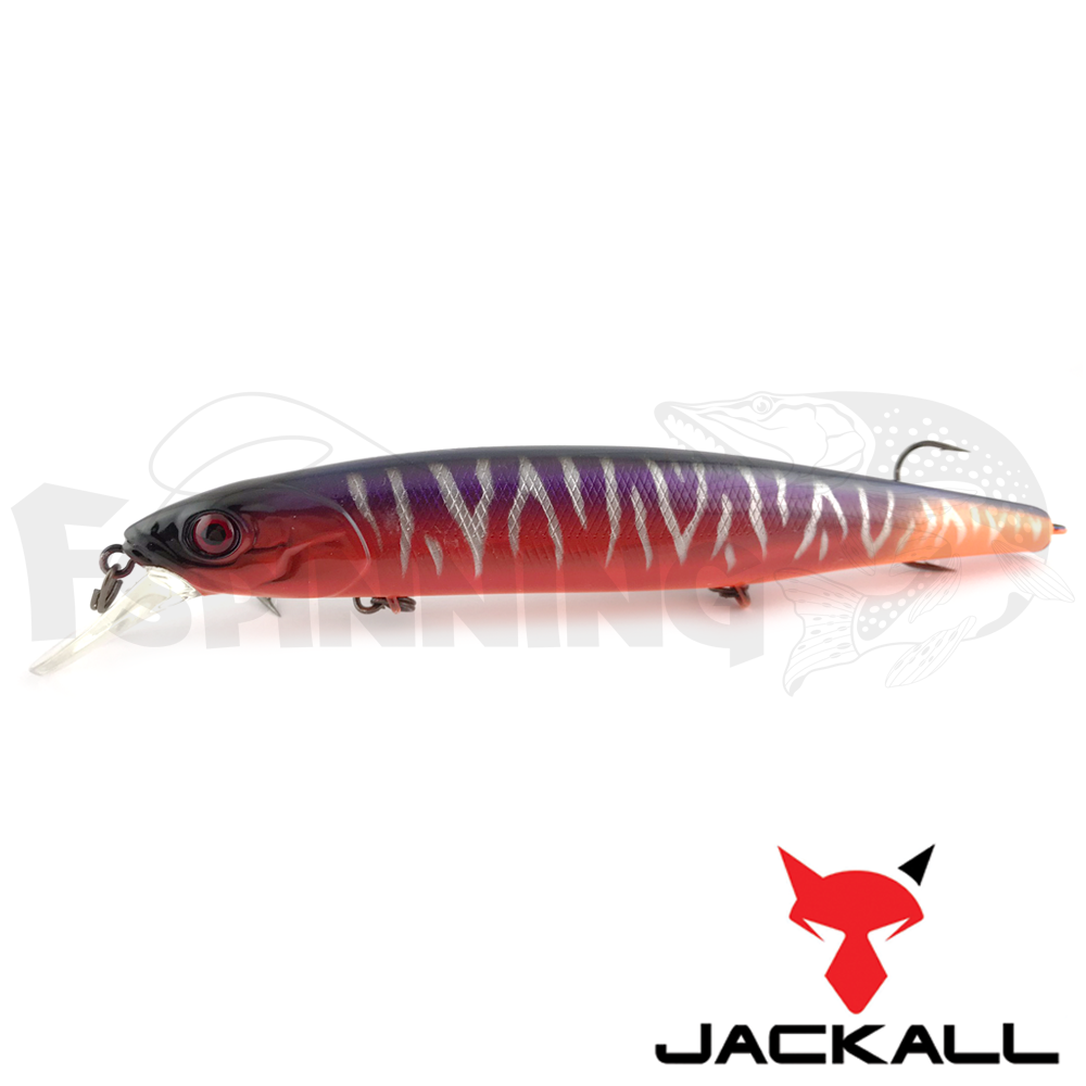 Mag Squad 128SP Воблер Jackall MagSquad 128SP 21,0gr #th hot orange (JP)