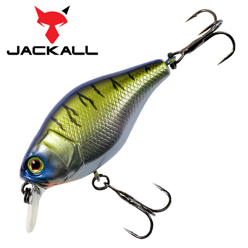 Воблер Jackall 10cc 9,5gr #chrome tiger
