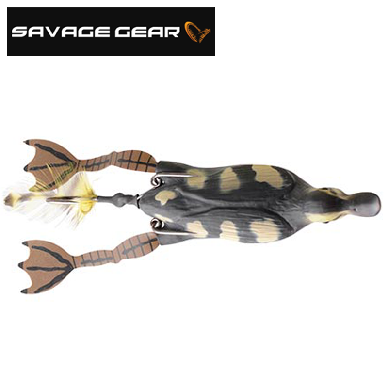 3D Hollow Duckling Воблер (утка) Savage Gear 3D Hollow Duckling 15gr #01 Natural