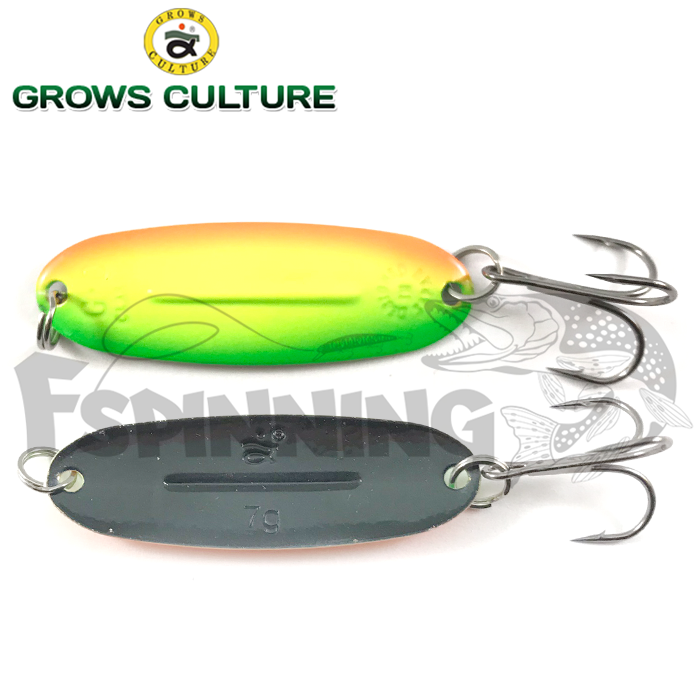Блесна колебалка Grows Culture Jig Killer UV 7gr/57mm #045A