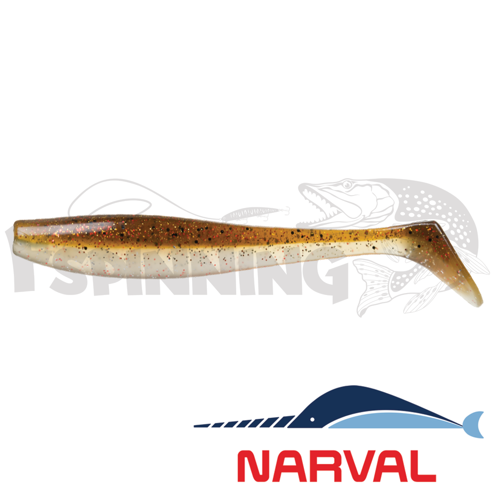 Choppy Tail 120mm Мягкие приманки Narval Choppy Tail 12sm #011 Brown Sugar (4 шт в уп)