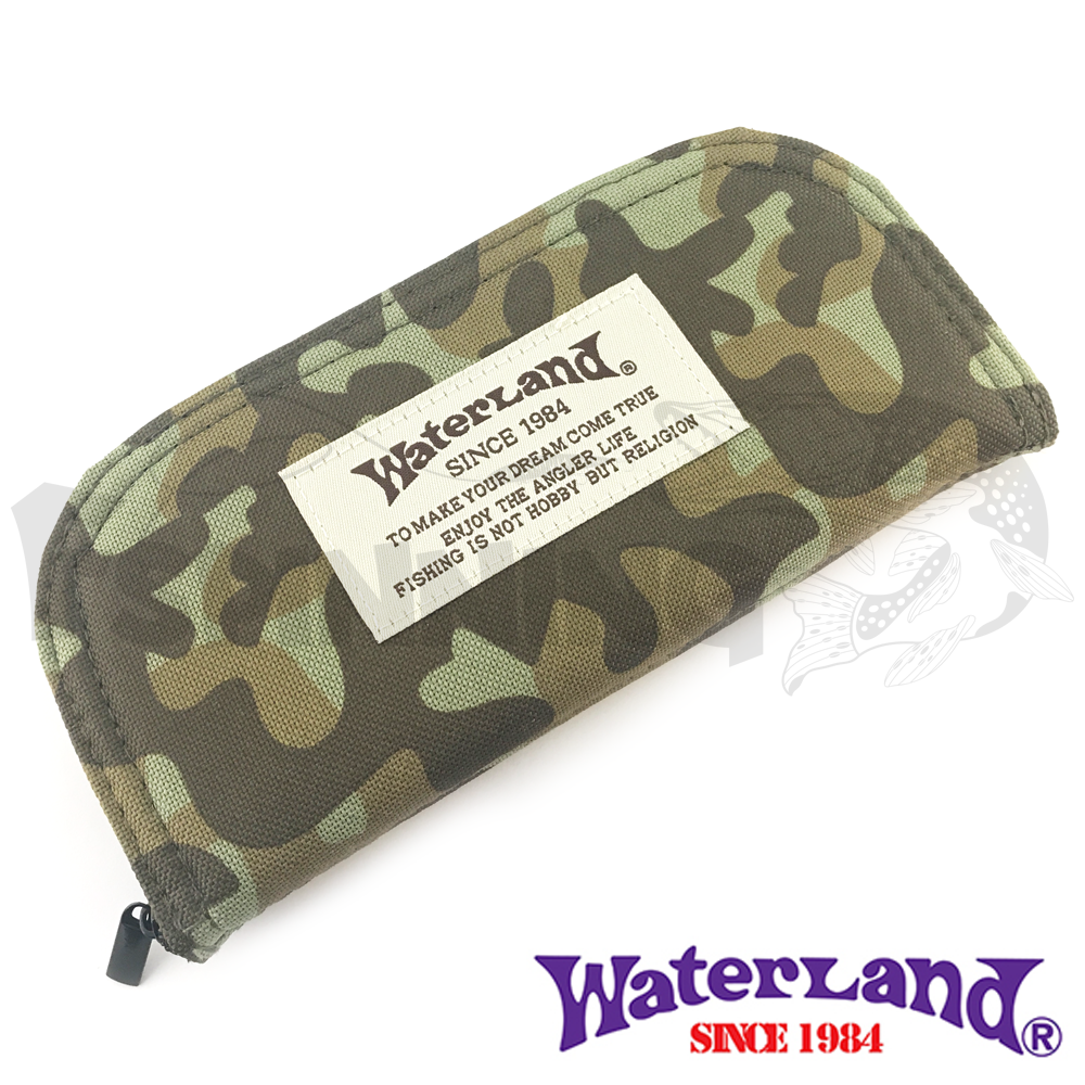 Waterland Кошелек для блесен Waterland Spoon Wallet #M Olive Camo