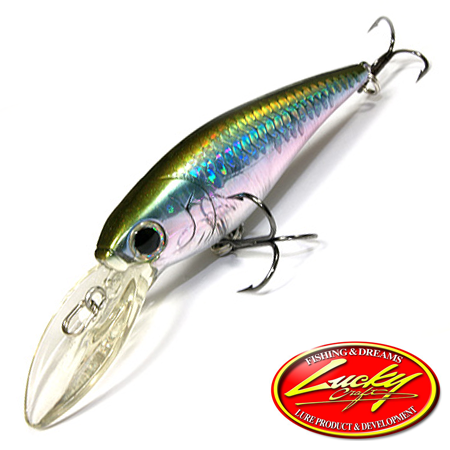 Воблер Lucky Craft Bevy Shad 75SP 10,0gr #254 MS MJ Herring