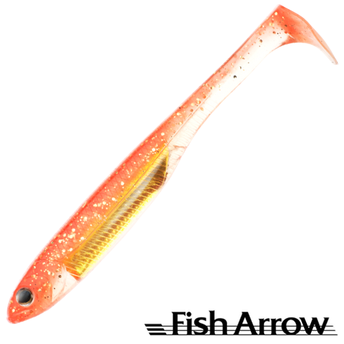 Fish Arrow Flash J Shad 5'' SW #119 Glow Orange/Silver (4 шт в уп)