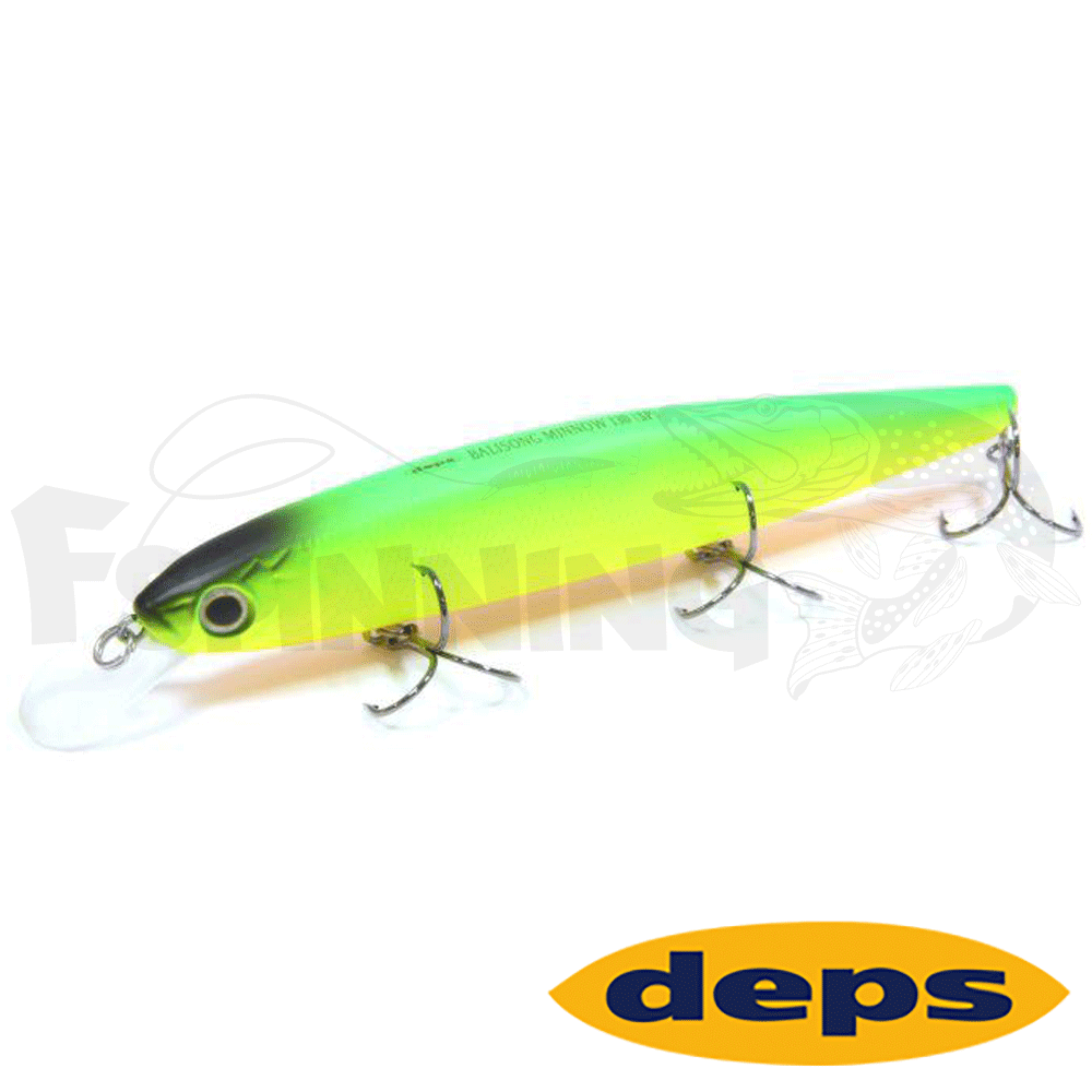 Balisong Minnow 130SP Воблер DEPS Balisong Minnow 130SP #99SL Chart
