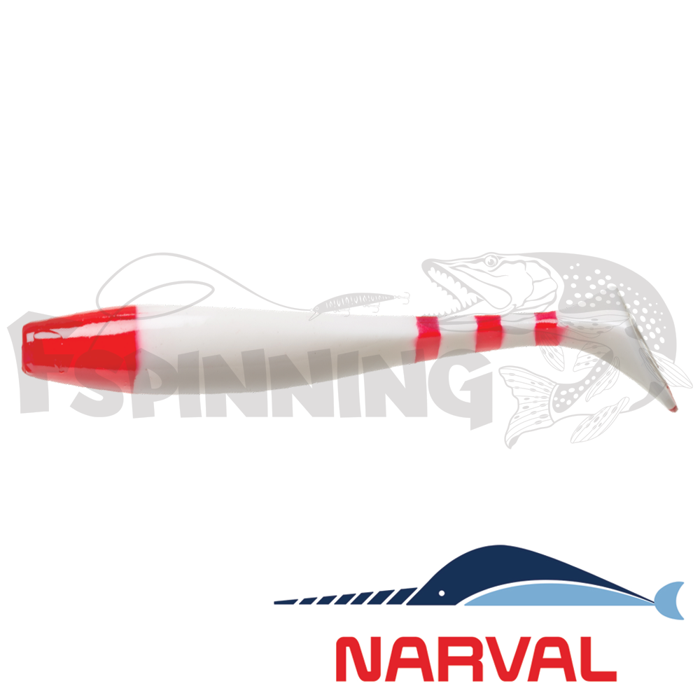 Choppy Tail 120mm Мягкие приманки Narval Choppy Tail 12sm #014 Santa Claus (4 шт в уп)