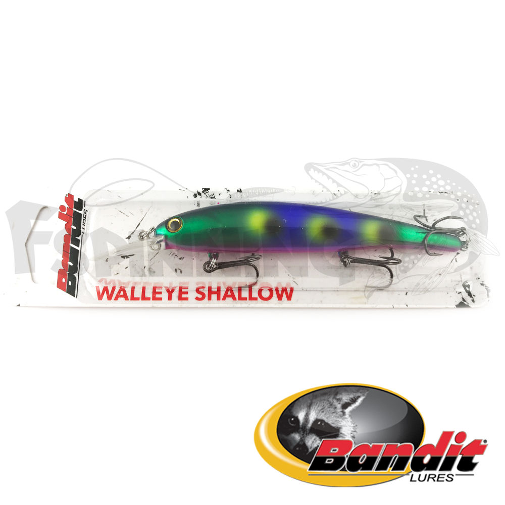 Walleye Shallow Воблер Bandit Walleye Shallow 17.5gr #B12