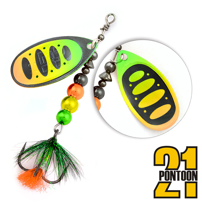 Блесна Pontoon21 Ball Concept 1,5 4,5gr #BT21-FT1