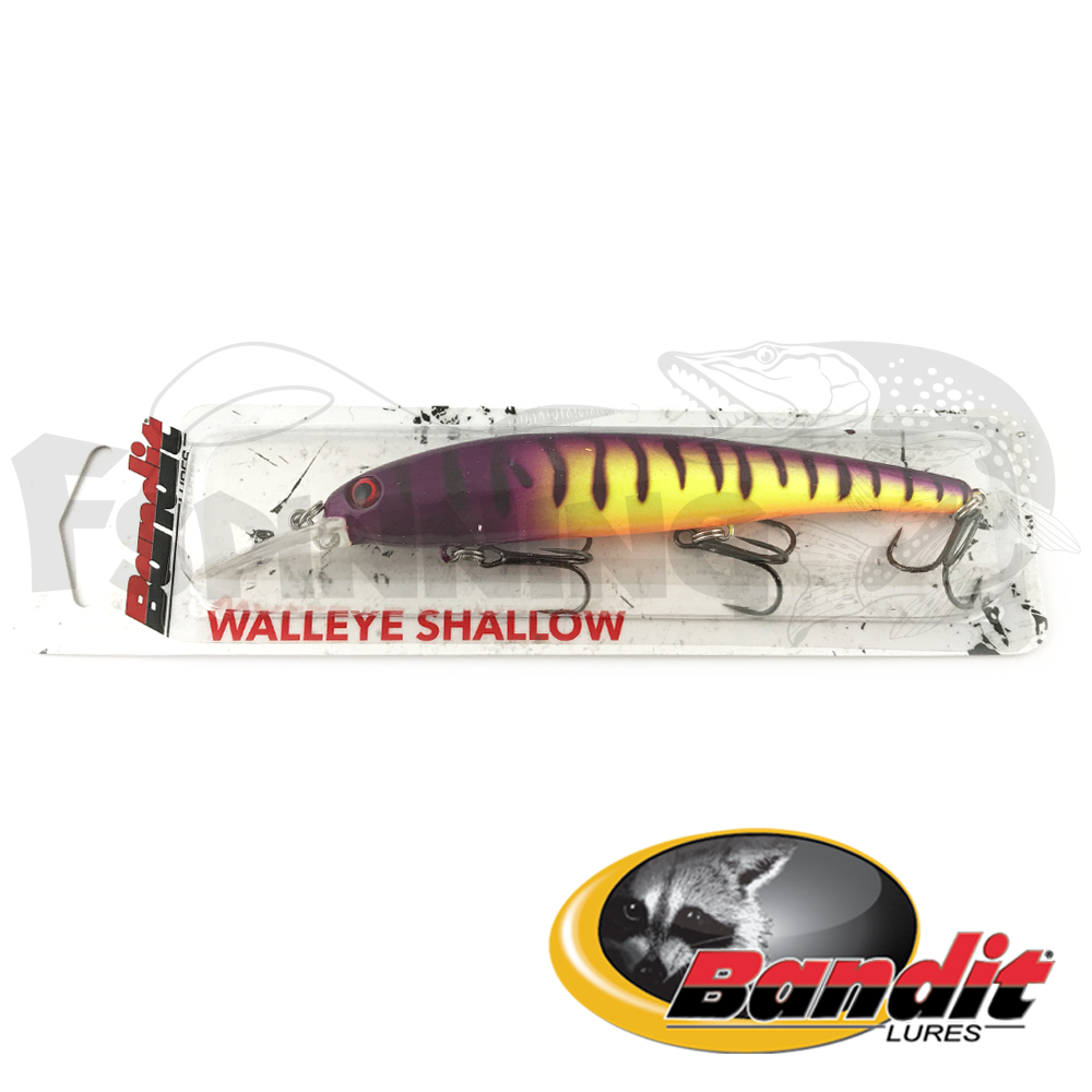 Walleye Shallow Воблер Bandit Walleye Shallow 17.5gr #B18