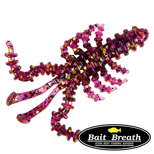 Мягкие приманки Bait Breath Saltwater Mosya 3'' #S848 (6шт в уп)