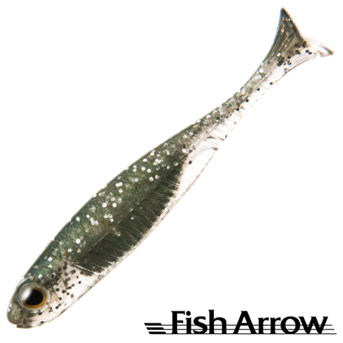 Мягкие приманки Fish Arrow Flash J Huddle 1'' SW #112 Inakko/Silver (5 шт в уп)