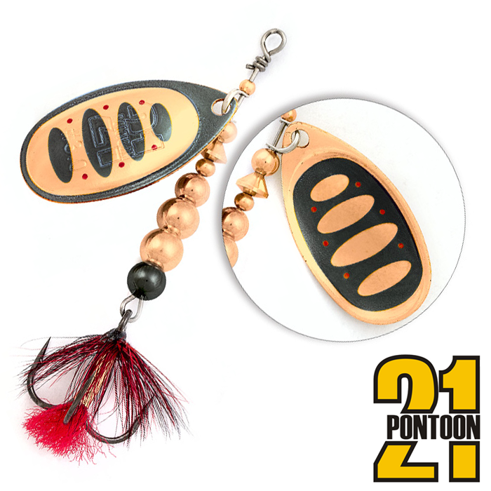 Блесна Pontoon21 Ball Concept 2,5 6,5gr #B04-003