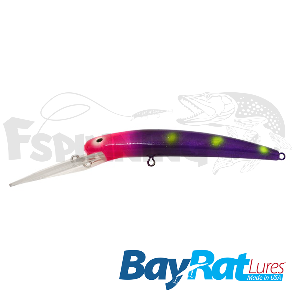 Long Extra Deep 100F Воблер Bay Rat Lures Long Extra Deep 100F 15.8gr #31 low blood pressure