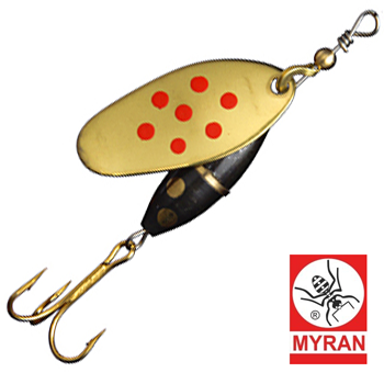 Блесна Myran Panter Prick (7г) Guld Rod 6482-28