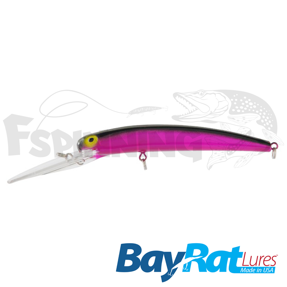 Long Extra Deep 100F Воблер Bay Rat Lures Long Extra Deep 100F 15.8gr #50 the machine