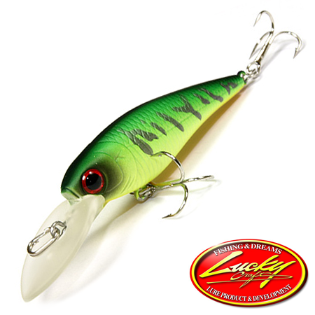 Bevy Shad 50F Воблер Lucky Craft Bevy Shad 50F 3,2gr #0808 Mat Tiger 191
