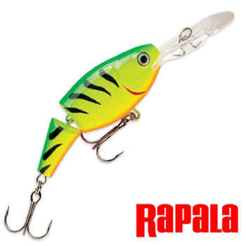 Jointed Shad Rap JSR05 Воблер RapaIa Jointed Shad Rap #JSR05-FT