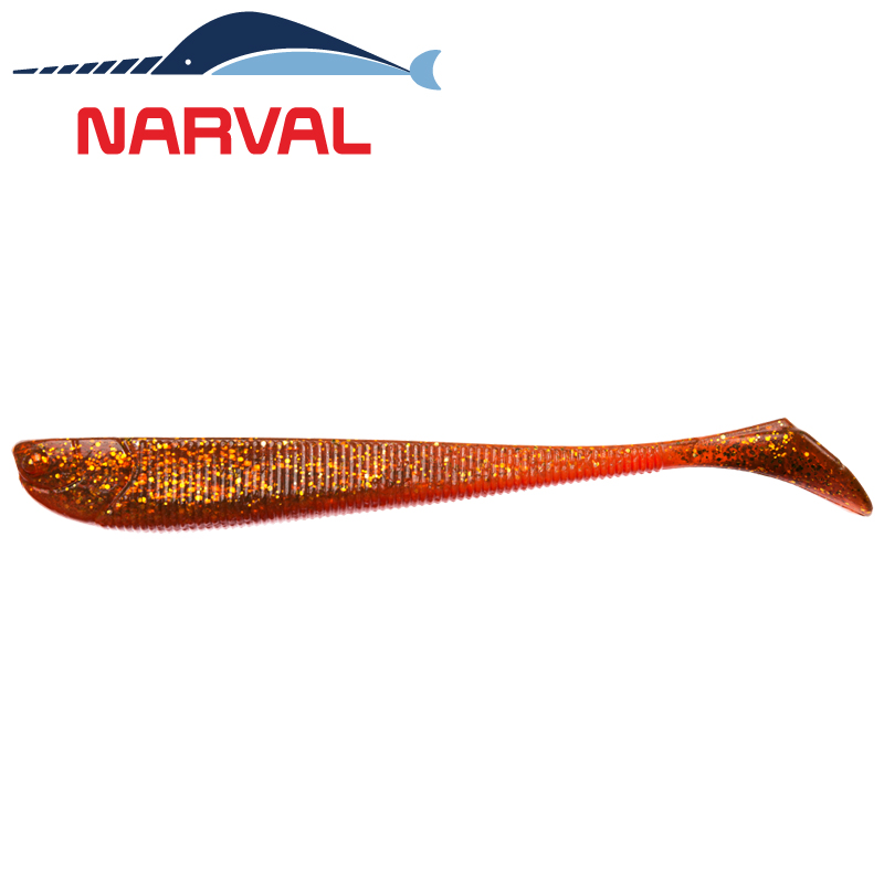Slim Minnow 110mm Мягкие приманки Narval Slim Minnow 11sm #005 Magic Motoroil (5 шт в уп)