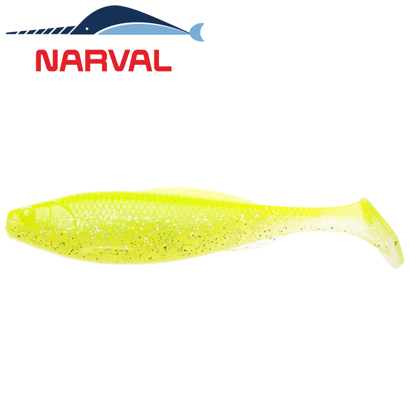 Troublemaker 120mm Мягкие приманки Narval Troublemaker 12sm #004 Lime Chartreuse (4 шт в уп)