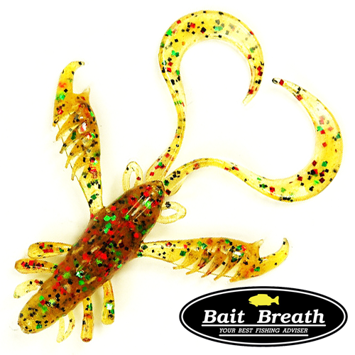 Мягкие приманки Bait Breath Virtual Craw 3,6'' #S115 (8шт в уп)