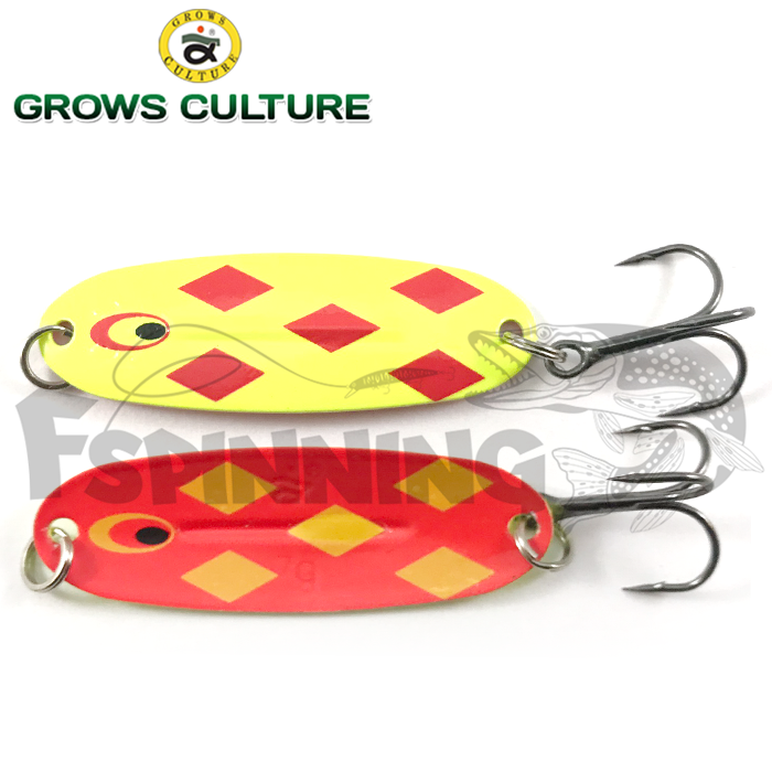 Блесна колебалка Grows Culture Jig Killer 7gr/57mm #008A