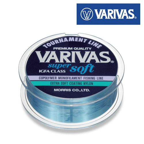 Super Soft Леска Varivas Super Soft  0,37 mm/91 m/20 lb