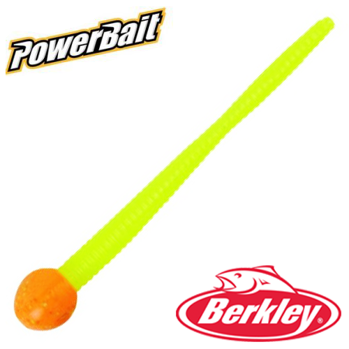 Мягкие приманки Berkley PowerBait Mice Tail 3'' #Orange Silver/Chartreuse