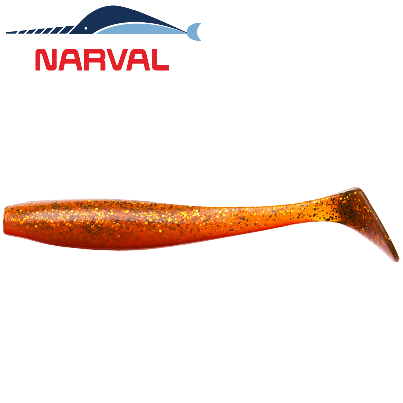 Choppy Tail 120mm Мягкие приманки Narval Choppy Tail 12sm #005 Magic Motoroil (4 шт в уп)