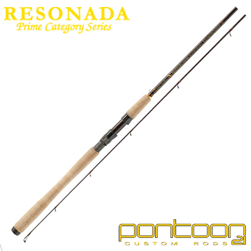 Спиннинг Pontoon21 Resonada RSS902MLXF 2,74m/4-17gr
