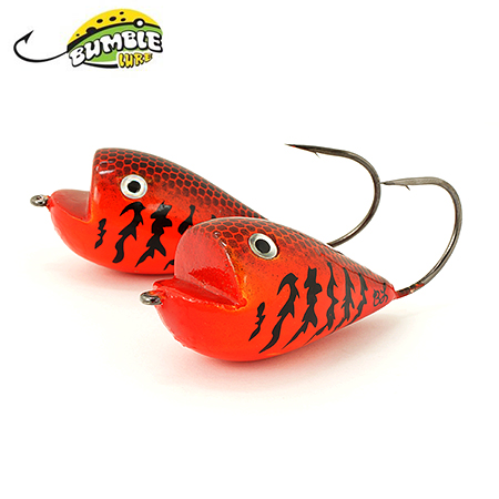 Глиссер Bumble Lure Frog F-9O Orange 9гр