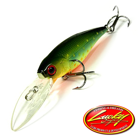 Воблер Lucky Craft Bevy Shad 60DD 5,8gr #814 Brook Trout