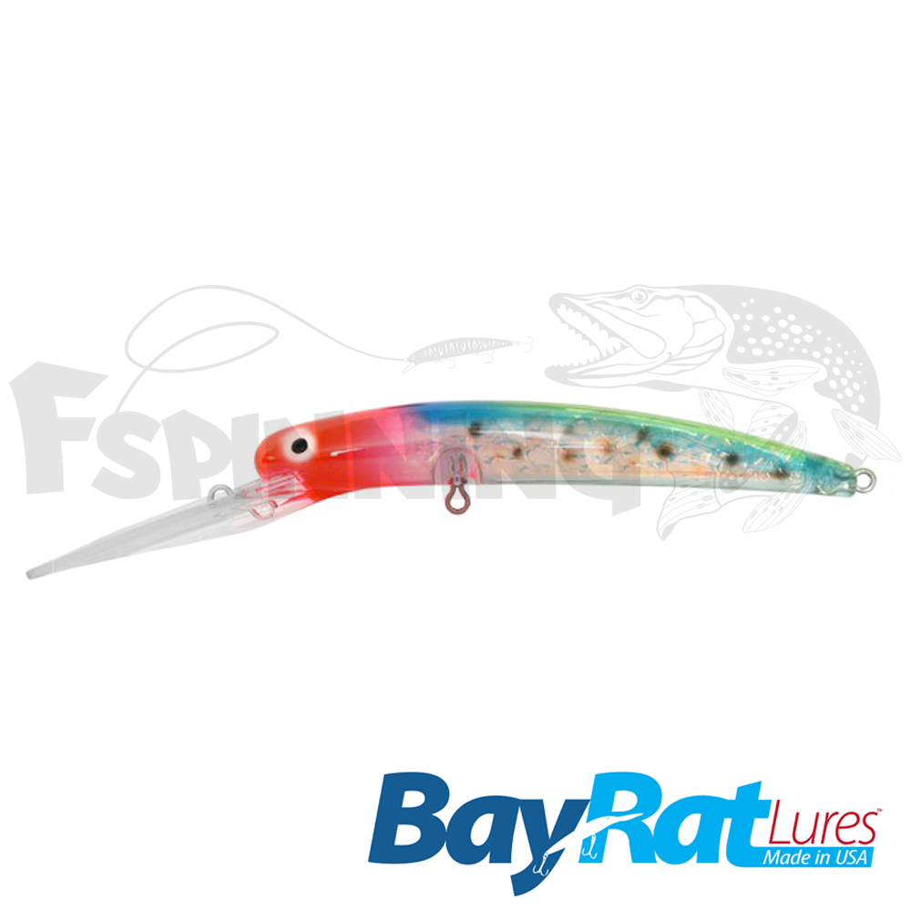 Long Extra Deep 100F Воблер Bay Rat Lures Long Extra Deep 100F 15.8gr #48 snow cone