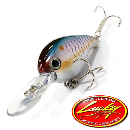 Воблер Lucky Craft Clutch DR 6,6gr #270 MS American Shad