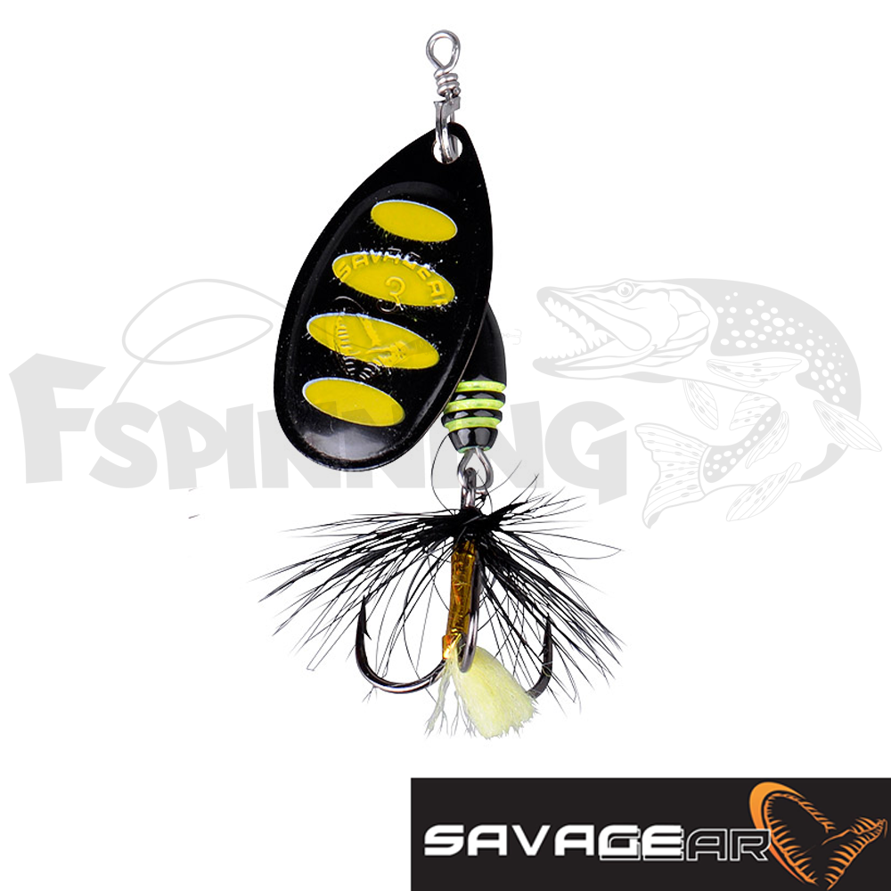 Rotex Spinner 2a 4gr Блесна вертушка Savage Gear Rotex Spinner 2a 4gr #11-Black Bee