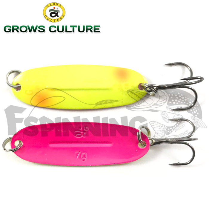 Блесна колебалка Grows Culture Jig Killer UV 7gr/57mm #048A