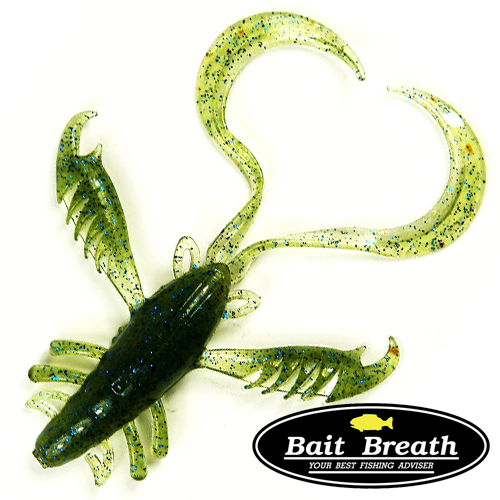Мягкие приманки Bait Breath Virtual Craw 2,6'' #S512 (9шт в уп)