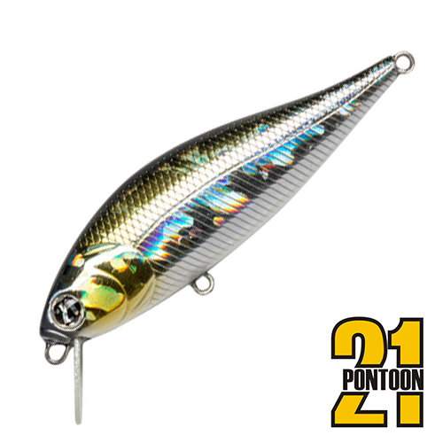 Bet-A-Shiner 68F-SR Воблер Pontoon 21 Bet-A-Shiner 68F-SR 6,6gr #R30